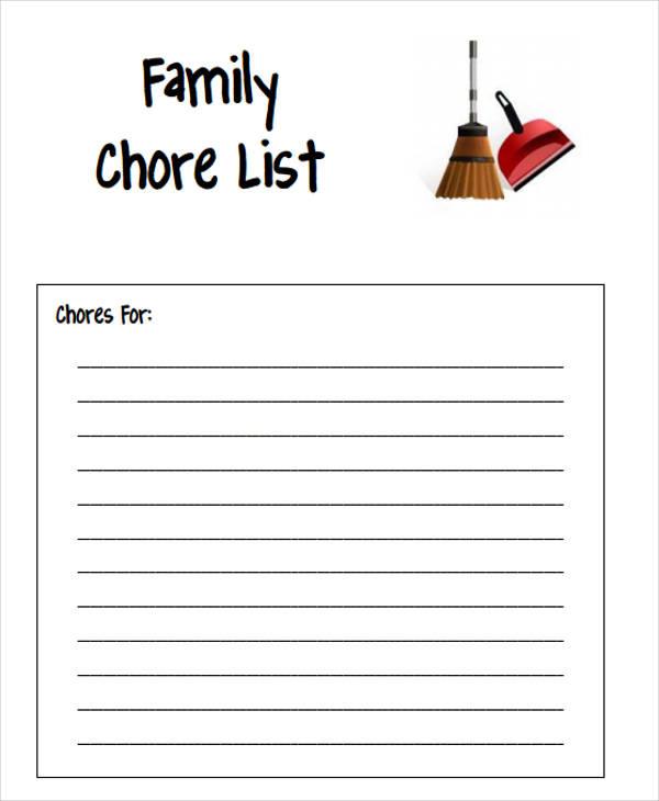family chore1