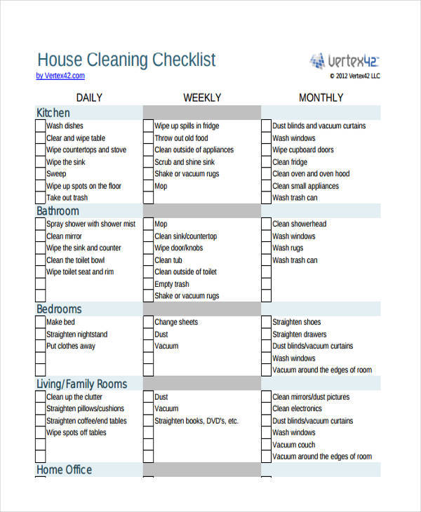 house chore