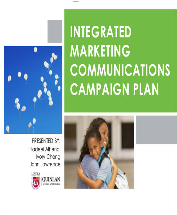 integrated marketing campaign plan