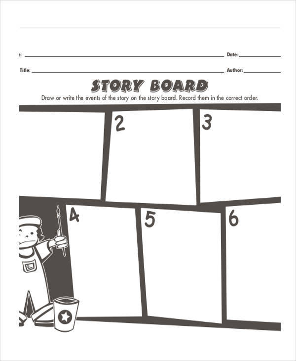 5 interactive storyboards examples in pdf sample templates interactive whiteboard storyboard maxwellsz
