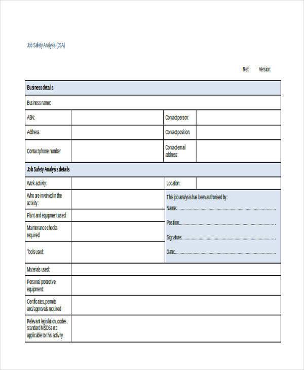 job safety risk assessment1