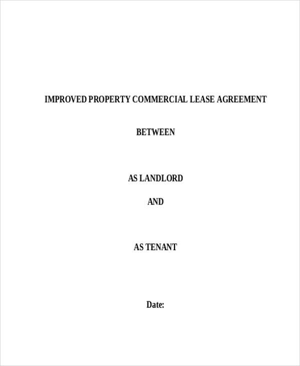 lease agreement for commercial property1