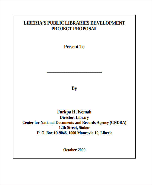 library development project
