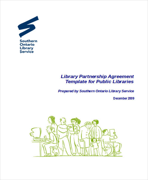 library partnership agreement