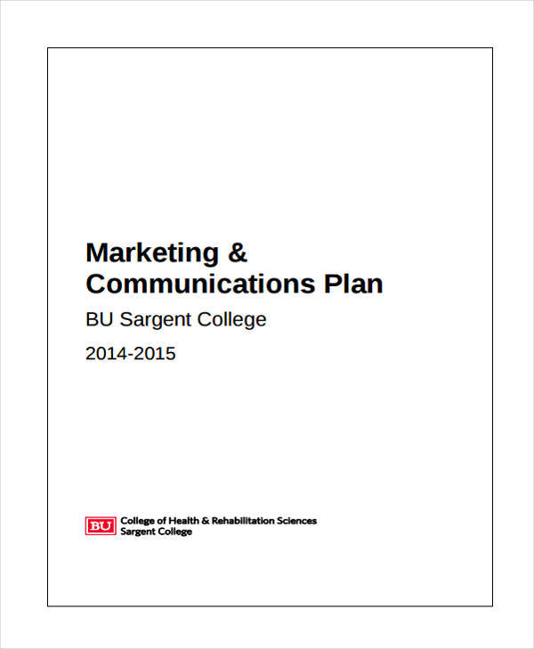 Marketing communication plan template pictures to pin on for Marcom strategy template