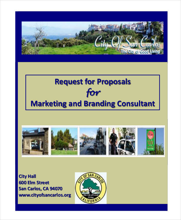 marketing consultant sample proposal