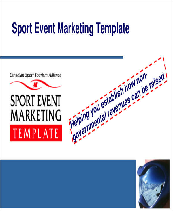 marketing plan for sports event