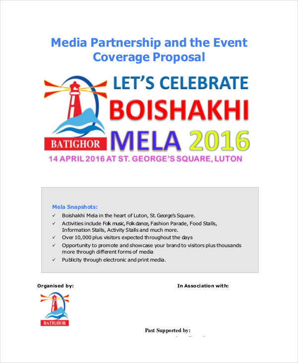 media partnership proposal