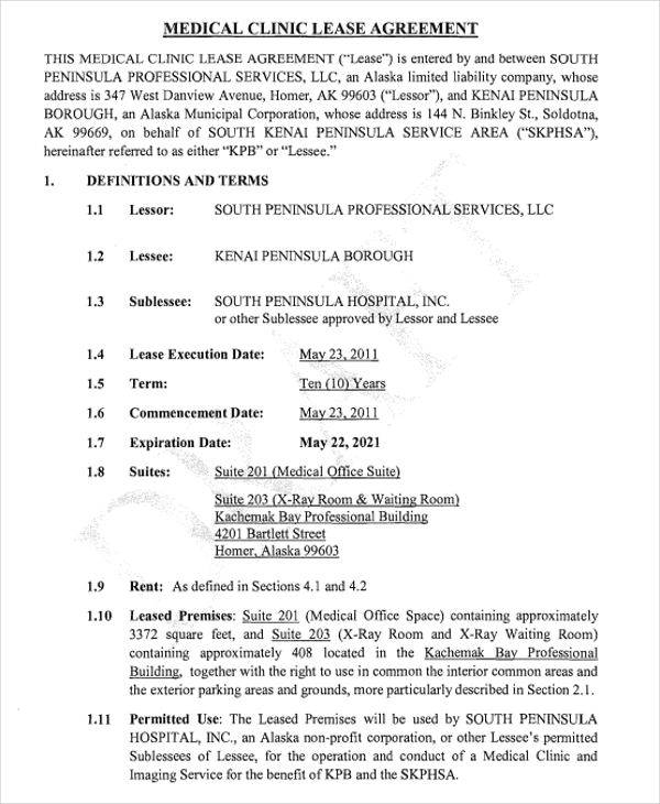 medical office lease agreement4