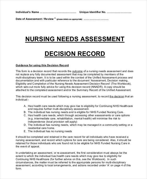 Sample Nursing Assessment. Create This Cv Sample Theatre Nurse Cv