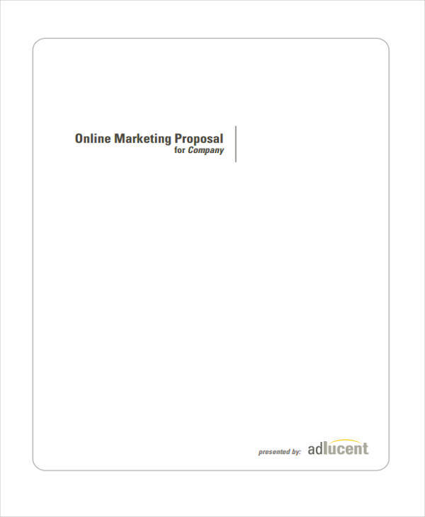 online marketing project
