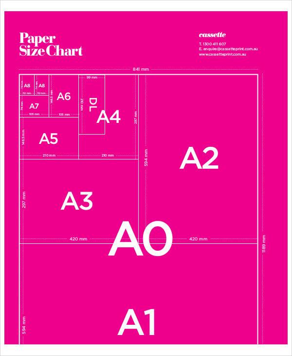paper size chart1