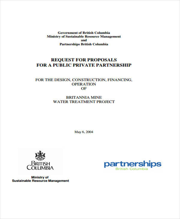 partnership proposal templates