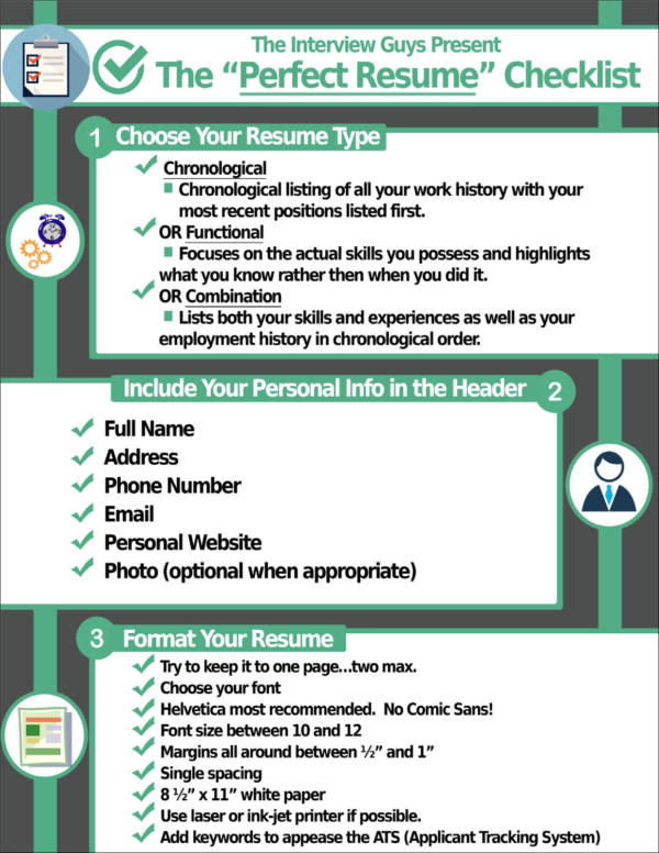 5  things an employer wants to see on your resume u2014samples  tips  and guides