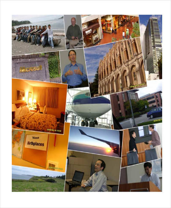 Photo Collage Storyboard