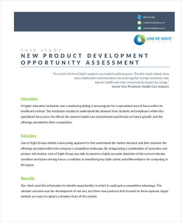 product opportunity assessment