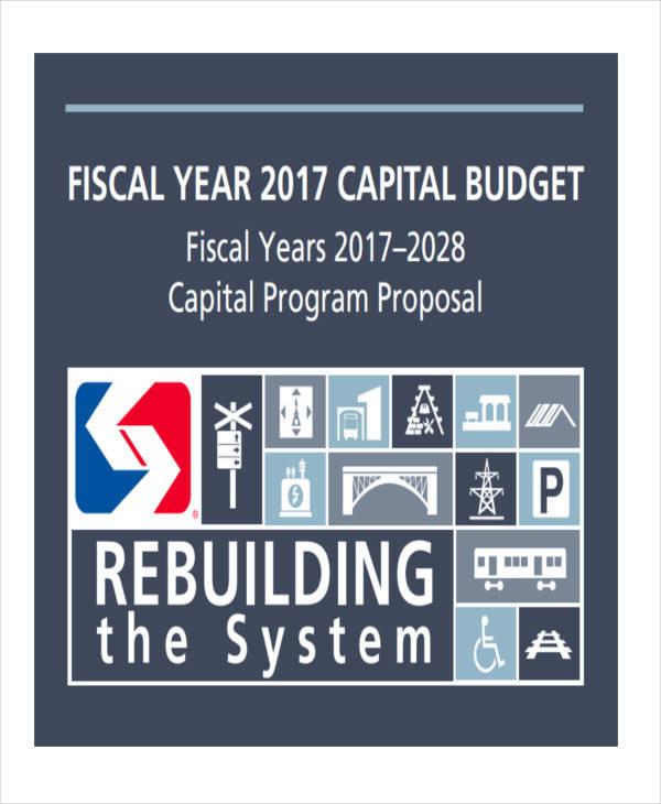program budget proposal
