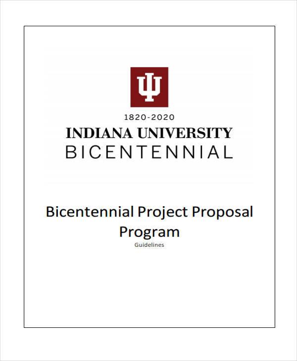 program project proposal