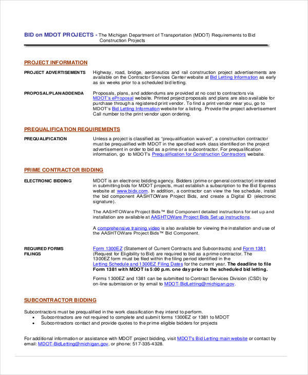 13+ Project Proposal Templates - Word, PDF