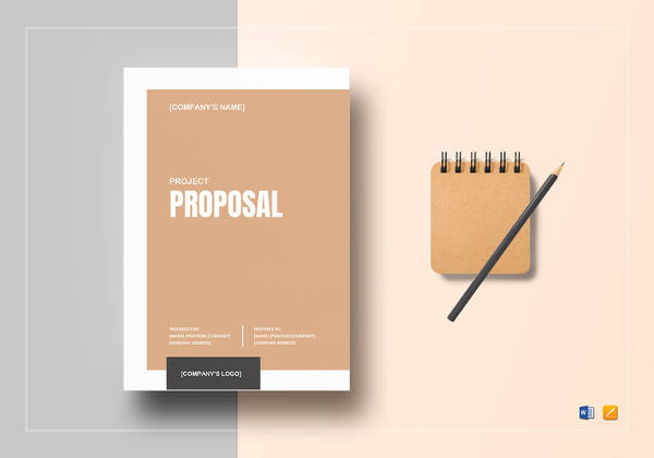 project proposal template to print