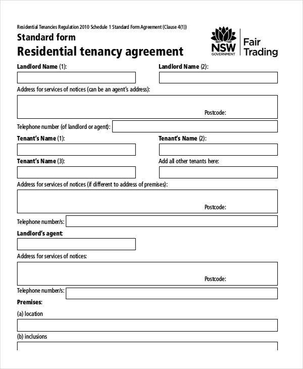 property rental lease agreement1