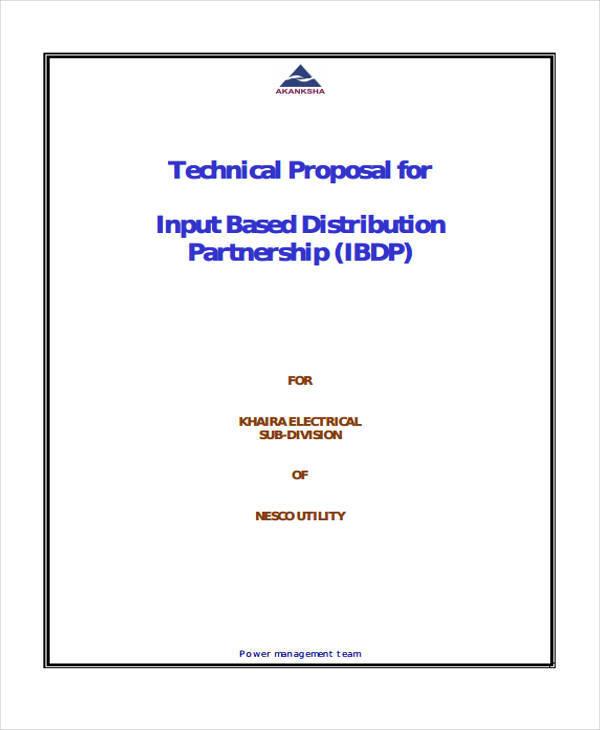 proposal for distribution partnership1