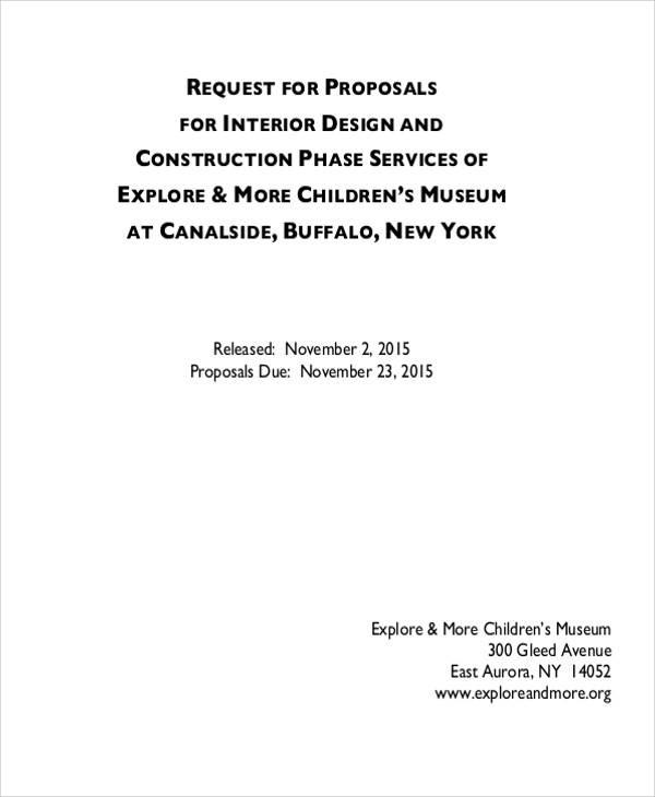 10 design proposals free sample example format download