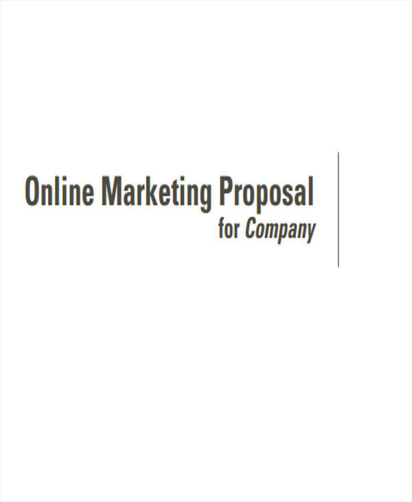 internet marketing proposal American marketing association - the pre-eminent force in marketing for best and next practices, thought leadership and valued relationships, across the entire discipline of marketing.
