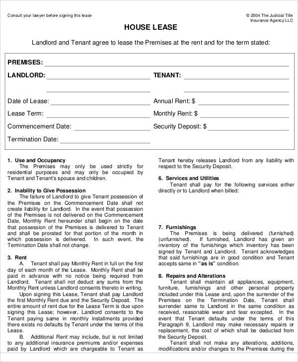 rental house lease agreement1