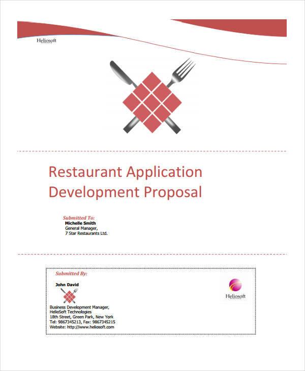 restaurant application project