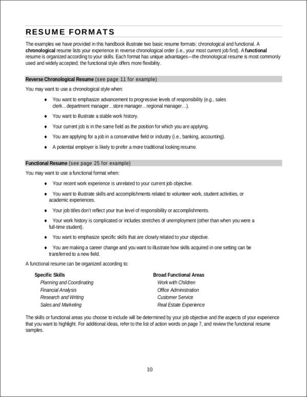 Resume Principles Fonts Margin And Paper Selection  Expert Tips