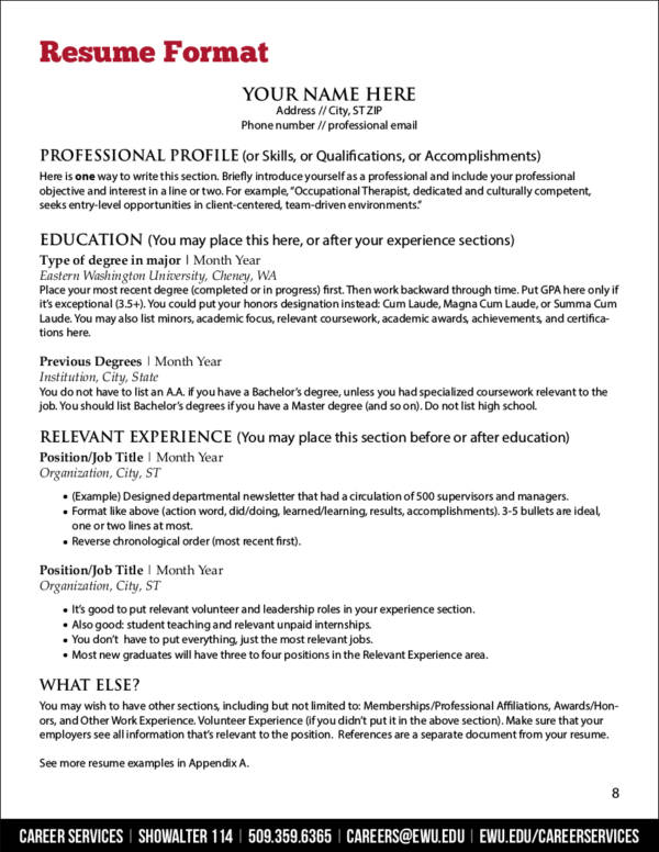 Resume Principles: Fonts, Margin, And Paper Selection - Expert Tips