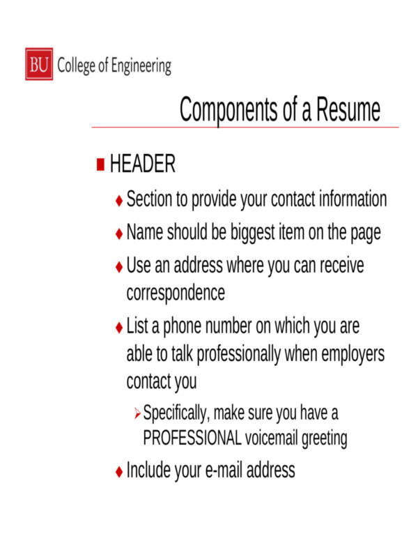 5 things an employer wants to see on your resume sles
