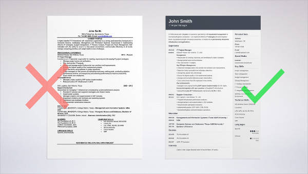 Free Difference Between Resume Profile Resume Objective