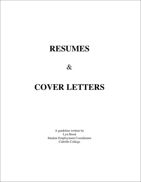 resumes and cover letters1