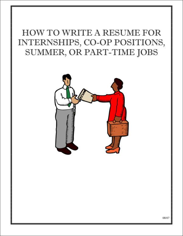 resumes for undergraduates1