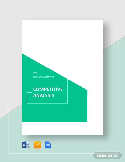 sample competitive analysis2