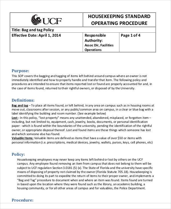 35  sop templates in pdf