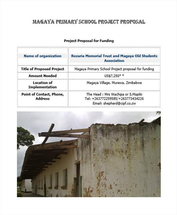school project proposal