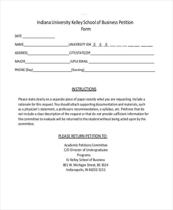 6+ Business Petition - Free Sample, Example, Format Download