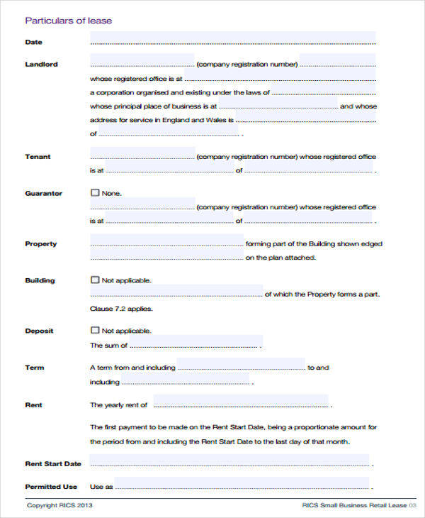 small business lease agreement1