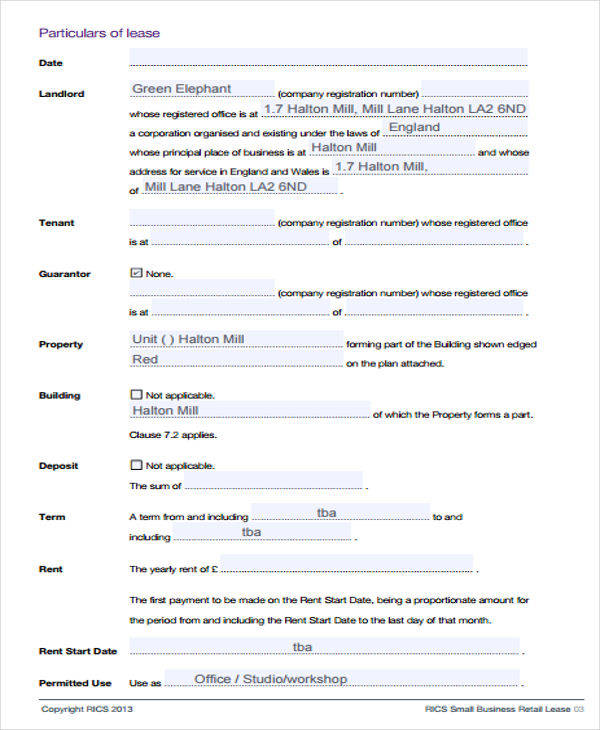 small business lease agreement2