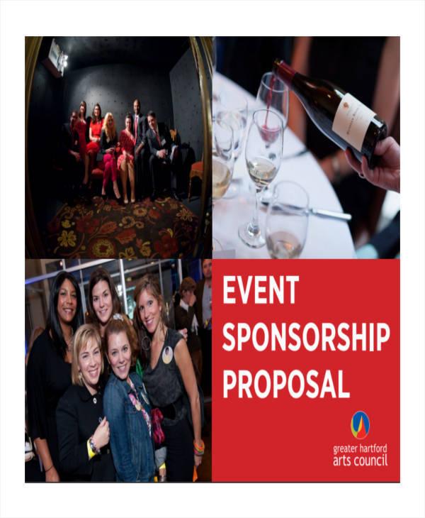 sponsorship proposal for event
