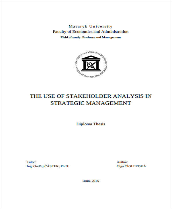 stakeholder management analysis1