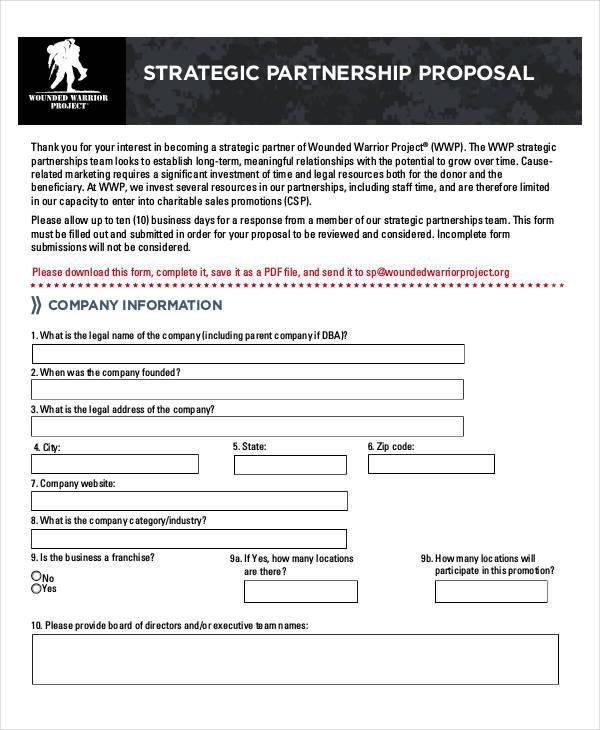 strategic partnership proposal1