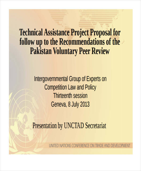 technical assistance project