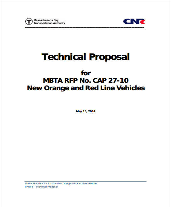 technical project proposal in pdf