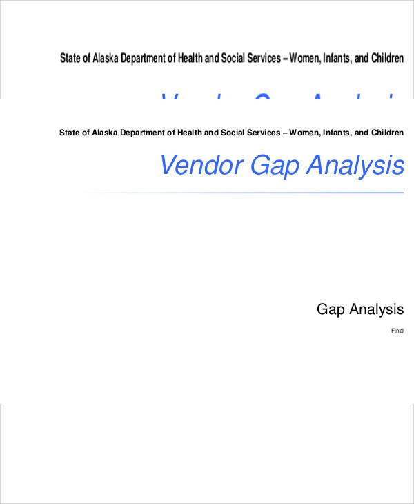 vendor gap analysis
