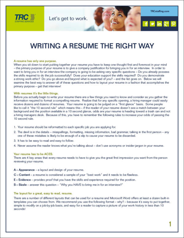 What Is Thin Resume: 4 Ways To Add Substance To A Thin Resume