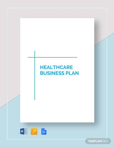 health care business plan